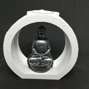 Meditating Buddha Candle Holder (E)