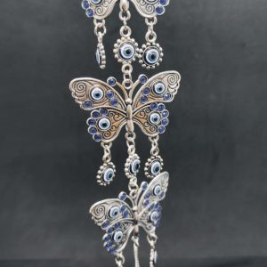 Butterfly Turkish Eye Hanging Ornament
