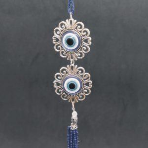 Double Turkish Eye Hanging Ornament