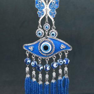 Large Turkish Eye Butterfly Hanging Ornament