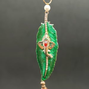 Ganesh Leaf Hanging Ornament