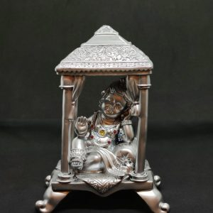 Baby Krishna in Temple