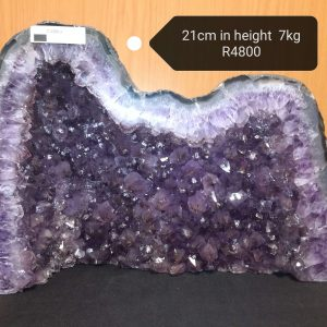 Natural Amethyst Cathedral Geode (C)
