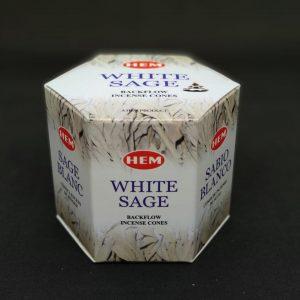 Hem White Sage Back flow Incense Cones