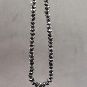 Black Nazar Bead Necklace
