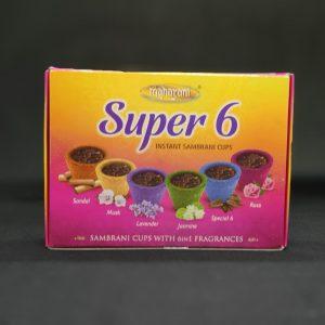 Maharani Super 6 Sambrani Cups