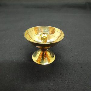 Standing Brass Lamp (A)