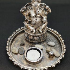 Ganesh Candle Holder (A)