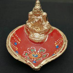 Laxmi Clay Lamp
