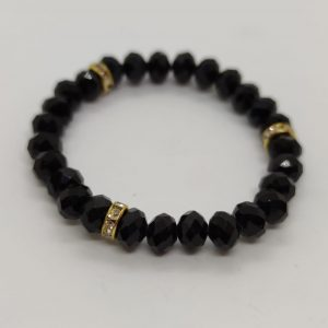 Nazar Bead Bracelet with Gold