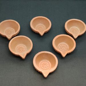 Clay Lamps 6 Pack (5cm)