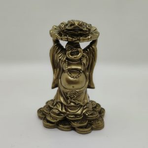 Buddha With Frog