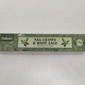 Tulasi Combo Incense (Nag Champa & White Sage)