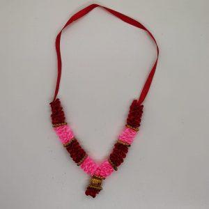 Satin Garland A (Red & Pink)