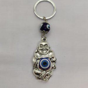 Laughing Buddha Turkish Eye Key Ring