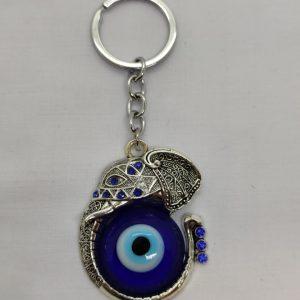 Elephant Turkish Eye Key Ring