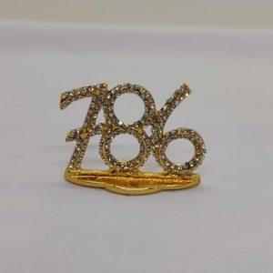 786 Mini Ornament