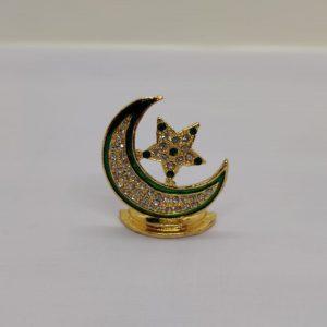 Crescent & Star Mini Ornament