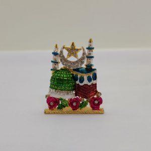Kaaba Crescent Star Mini Ornament