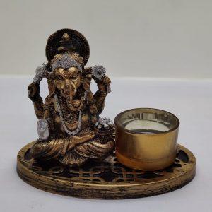 Ganesh Candle Holder (D)