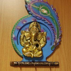 Ganesh Peacock Frame (Small)