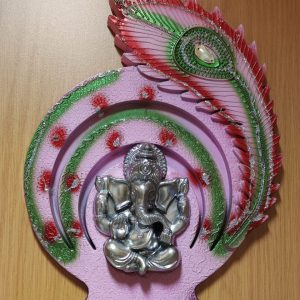 Ganesh Peacock Frame (Large)