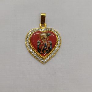 Heart Pendant (Hanuman)