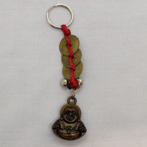 Buddha Lucky Coin Key Ring
