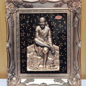 Shirdi Sai Mirror Frame