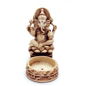 Ganesh Incense and Candle Holder