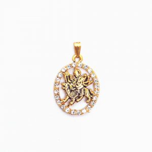 Durga Gold Pendant