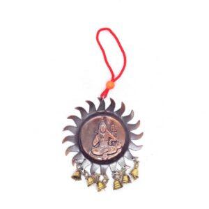 Copper Hanging Ornament (Shiva)